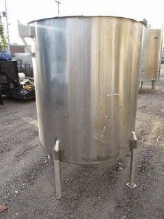PERMA-SAN 465 GALLON STAINLESS STEEL TANK