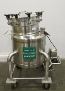 Cherry Burrell 150L Stainless Steel Pressure Vessel
