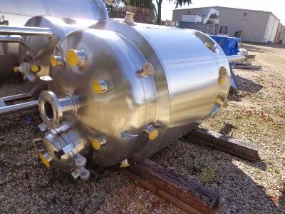 T&C Stainless 600 Liter Reactor