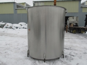 Perma-San 2000 Gallon Stainless Steel Tank