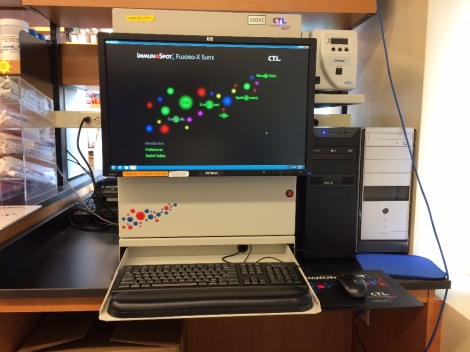 CTL Immunospot S5 UV Analyzer