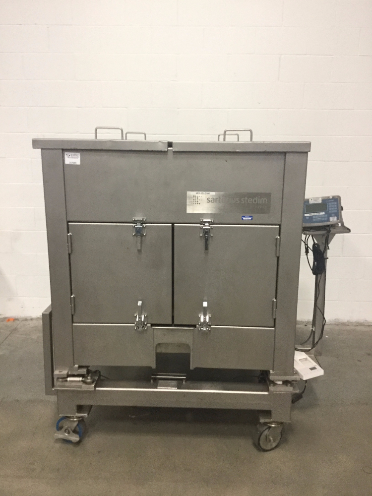 Sartorius Stedim 1000 Liter Cubical Single-Use Bioreactor